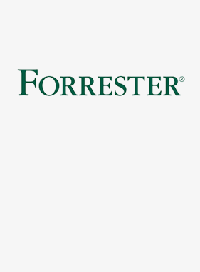 Logo for Forrester Q2 2020 CDRA Wave report