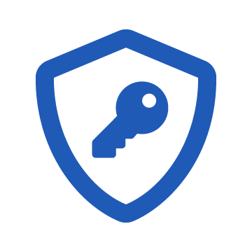 Defend the Keys; Shield and key icon
